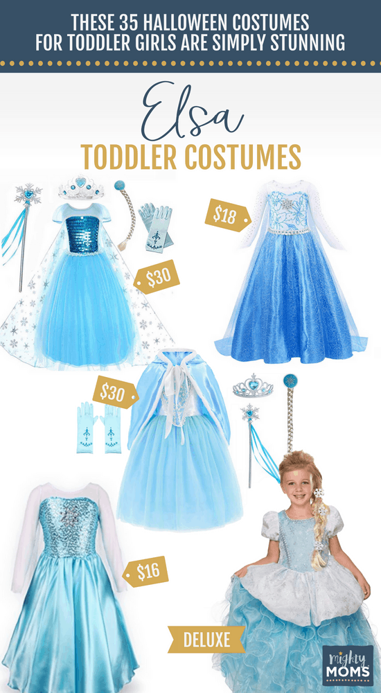 Elsa Halloween Toddler Costumes - MightyMoms.club