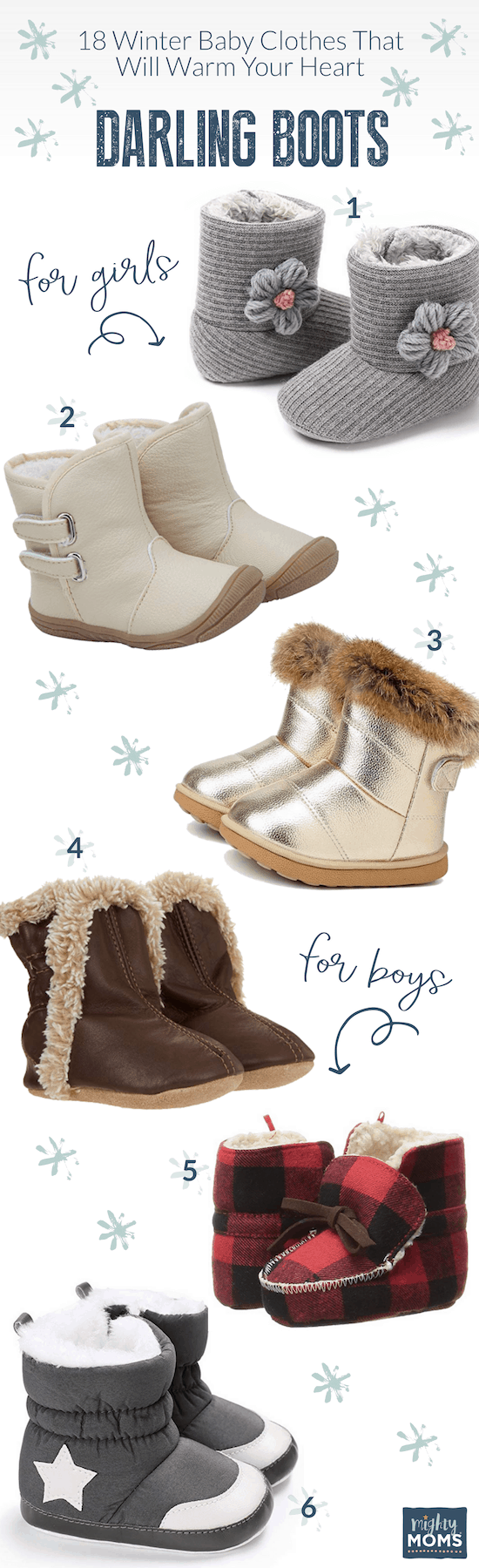 Baby Clothes for Winter: Cozy Boots - MightyMoms.club