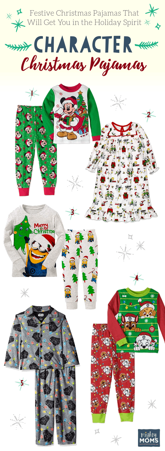 Character-Based Christmas PJ's - MightyMoms.club