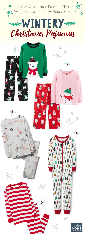 Subtle Winter Christmas Pajamas - MightyMoms.club