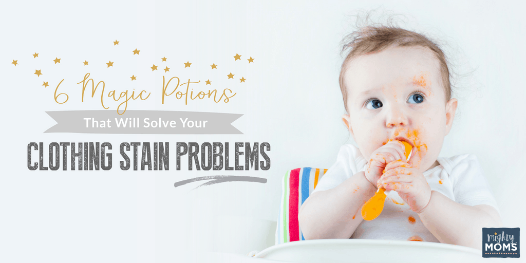 Tackle those stains on clothes the smart way - MightyMoms.club