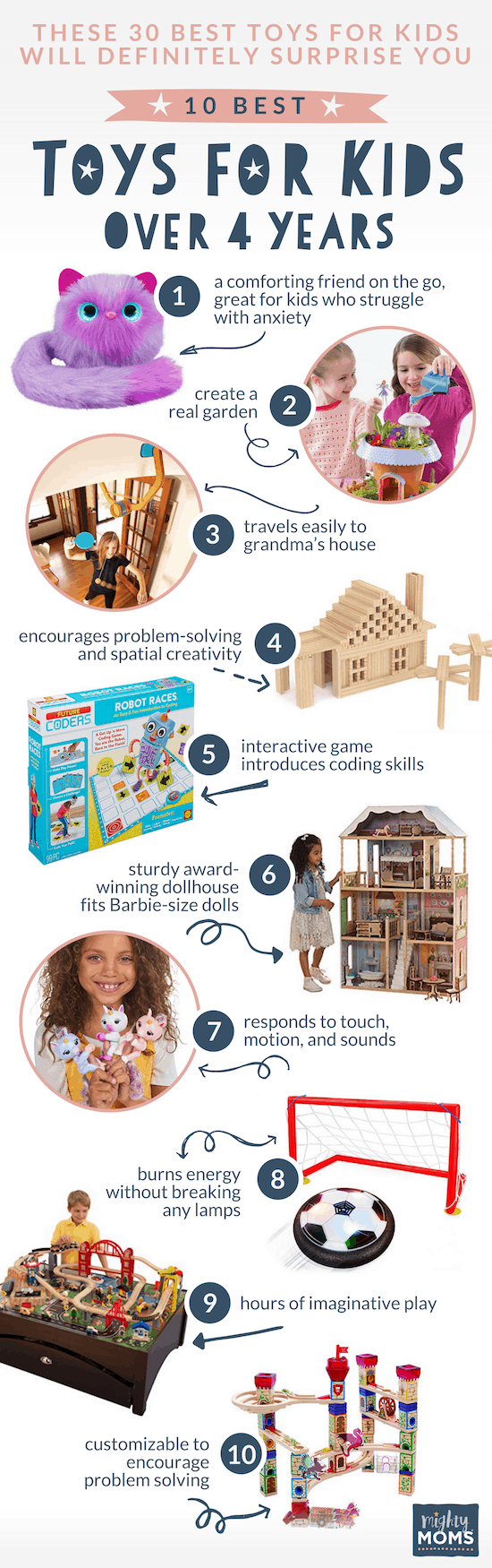 Best Toys for Kids Over 4 Years - MightyMoms.club