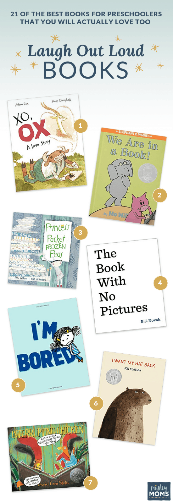 Best Preschool Books for Chuckles - MightyMoms.club