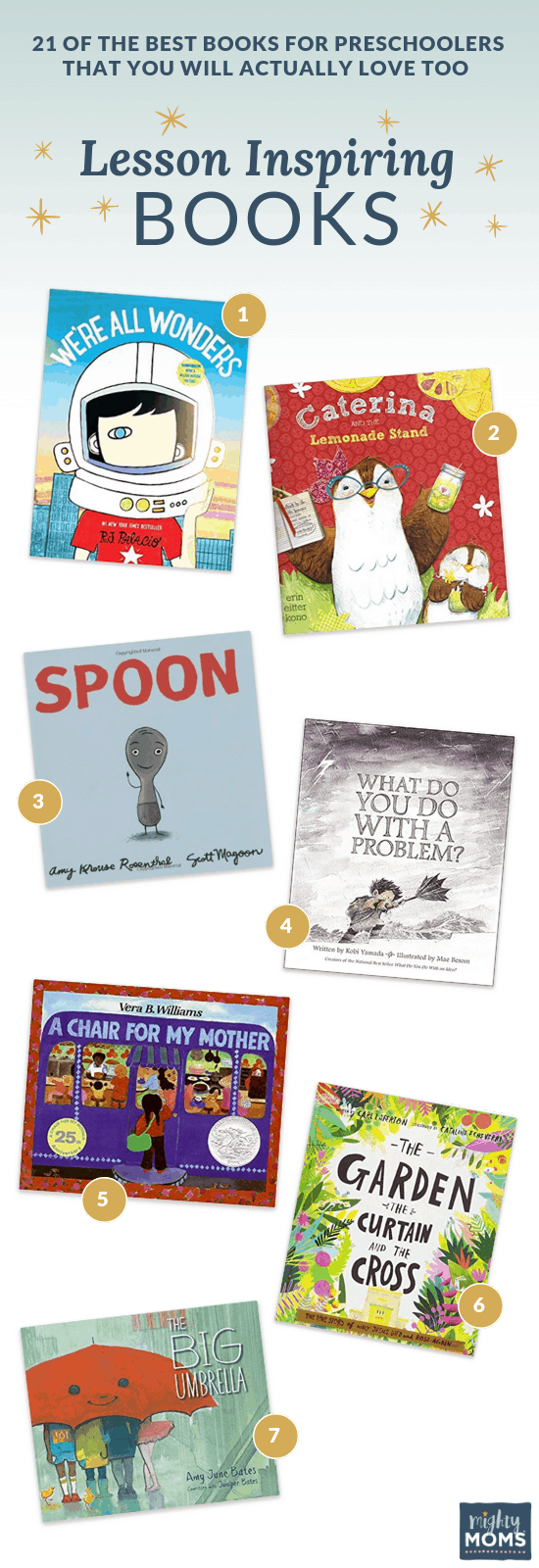 Best Preschool Books with an Inspiring Message - MightyMoms.club