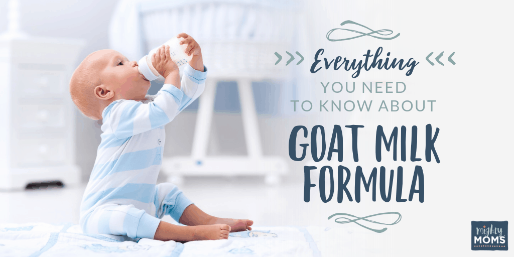 Why you should look again at goat milk formula - MightyMoms.club