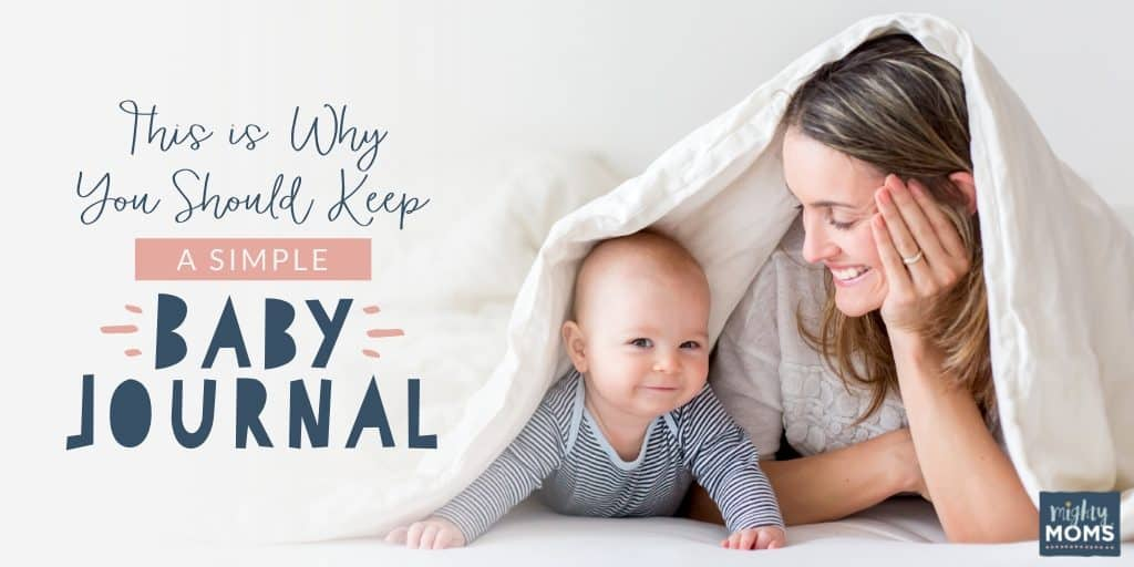 This is why you should keep a simple baby journal