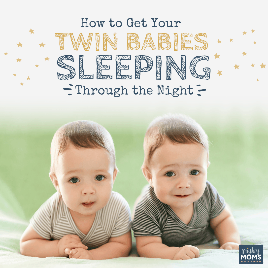 Get Your Twin Babies Sleeping Thru the Night - MightyMoms.club