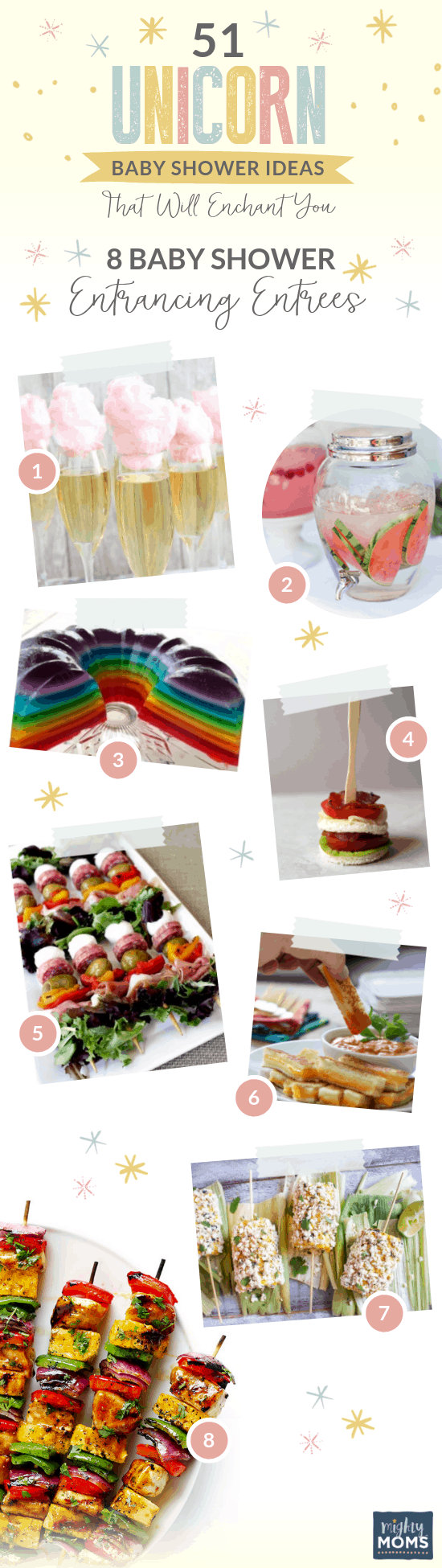 8 Delicious Unicorn Baby Shower Dishes - MightyMoms.club