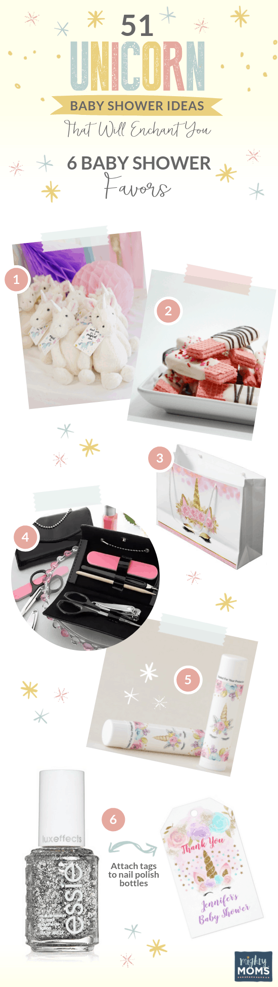 Fabulous Unicorn Baby Shower Favors - MightyMoms.club