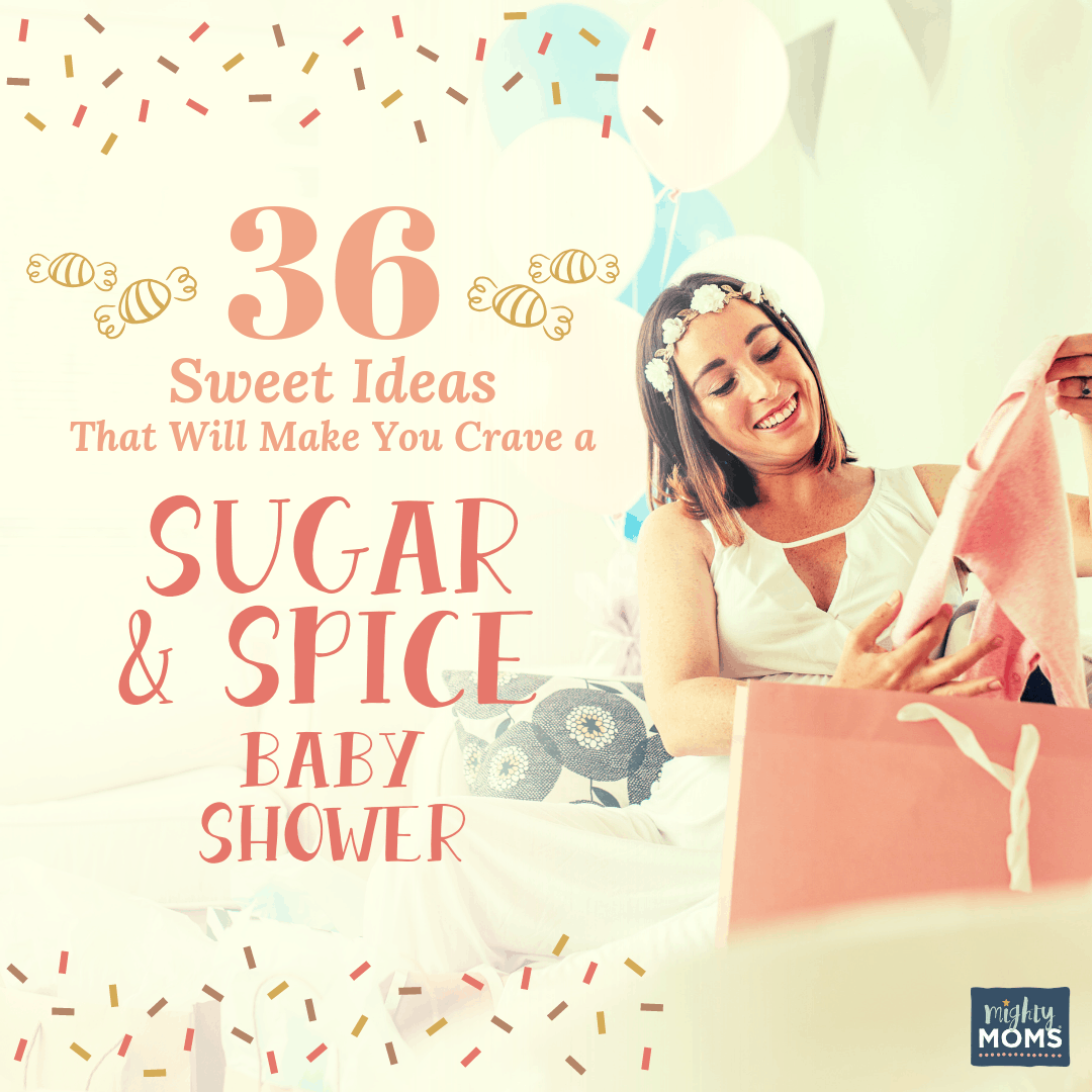 The ultimate sugar and spice baby shower needs a dash of this! MightyMoms.club