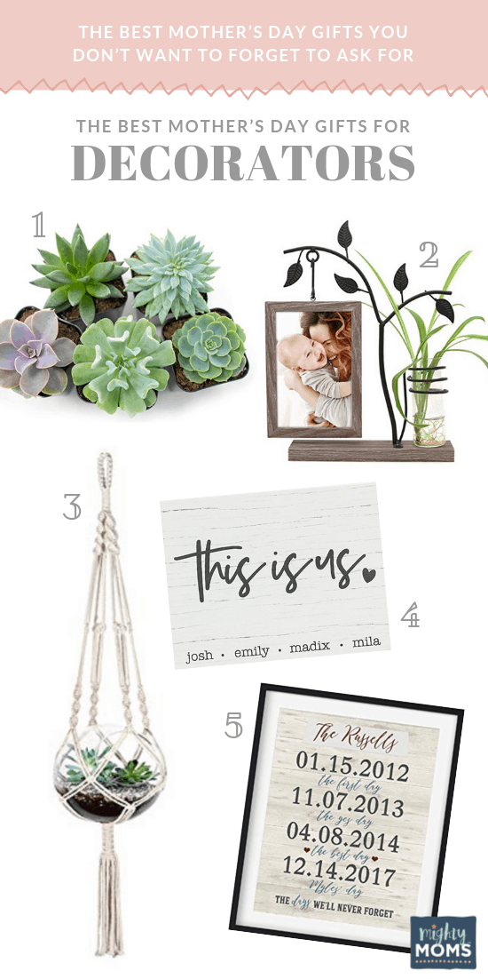 The Best Mother's Day Gifts for Decorators - MightyMoms.club