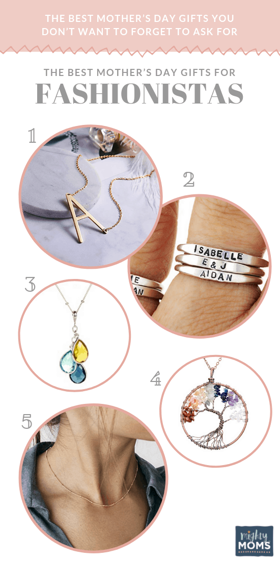 The Best Mother's Day Gifts for Fashionistas - MightyMoms.club