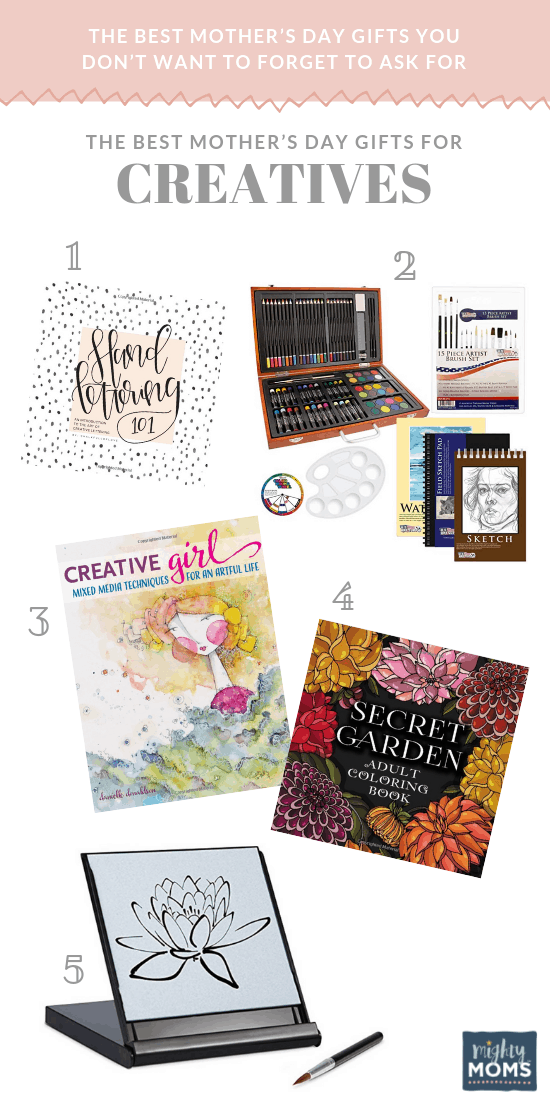 The Best Mother's Day Gifts for Creatives - MightyMoms.club