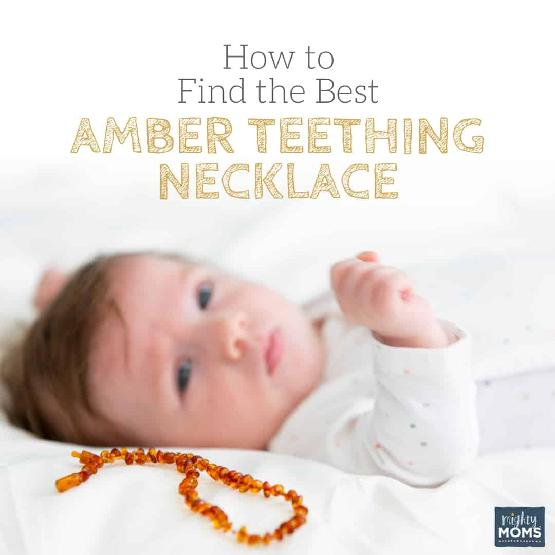 How to find the best amber teething necklace - MightyMoms.club
