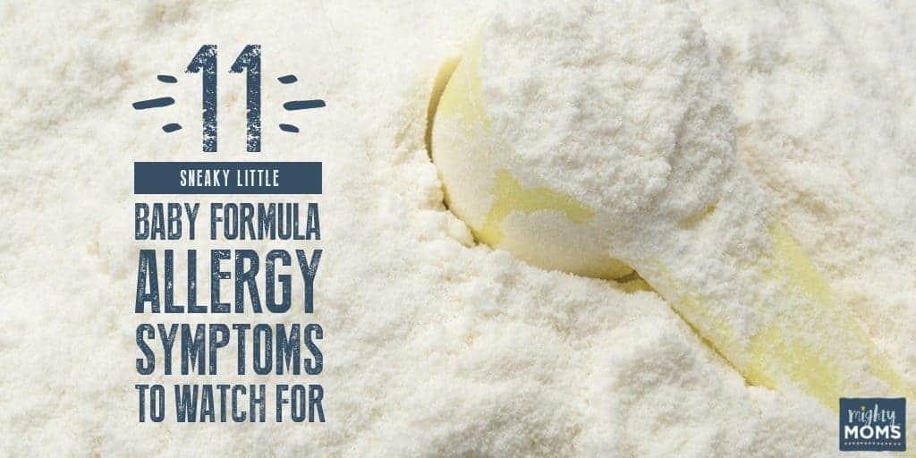 Do you know these formula allergy symptoms? - MightyMoms.club