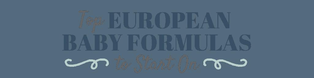 German Baby Formula