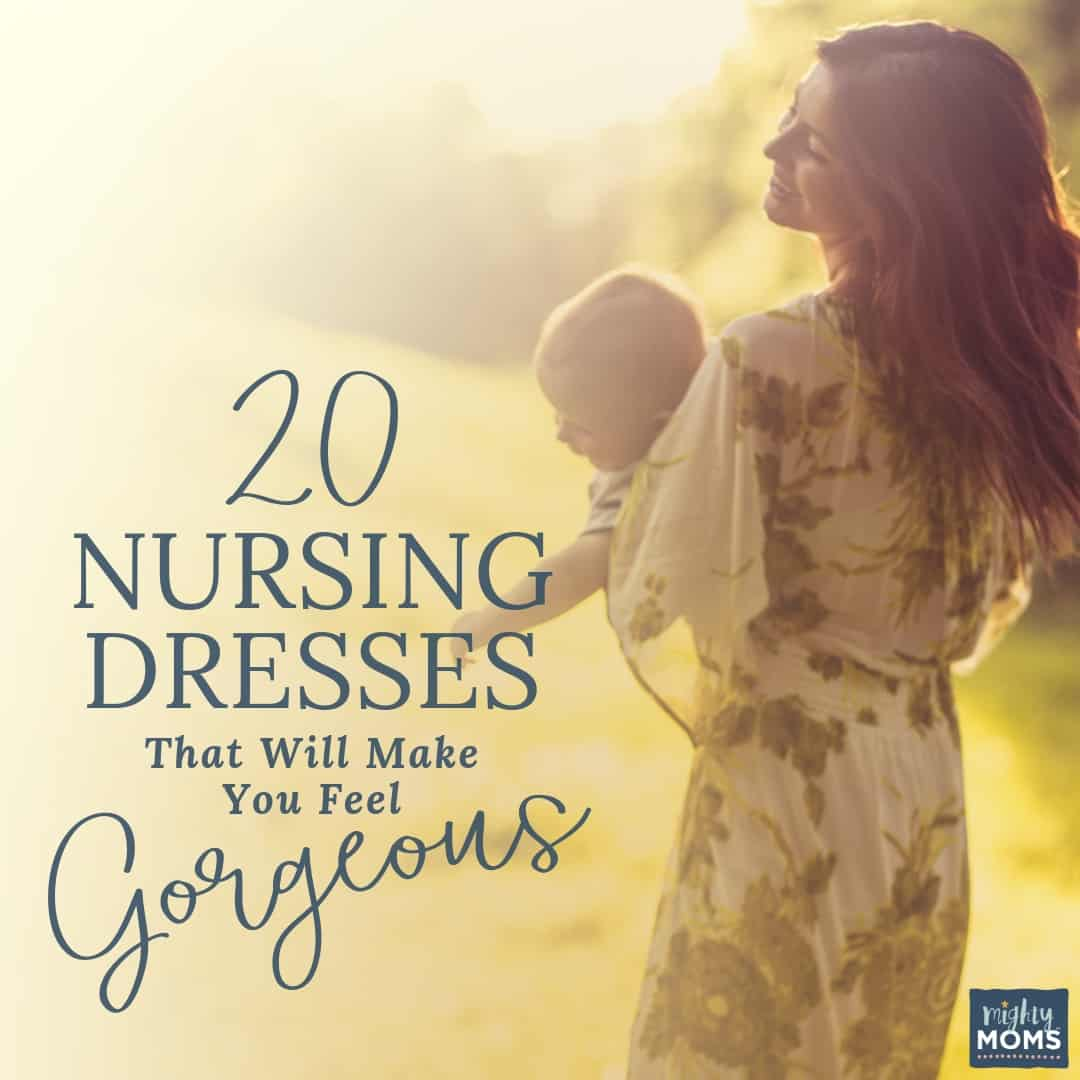 Check out these gorgeous nursing dresses - MightyMoms.club