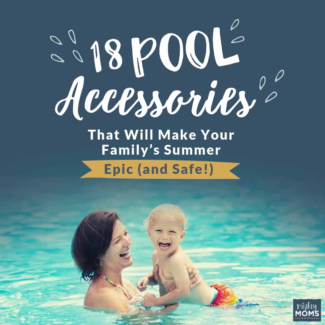 These 18 pool accessories will make sure your summer is epic and safe. | MightyMoms.club
