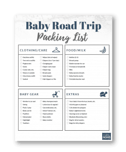 Make traveling with baby easier with this free packing checklist | MightyMoms.club