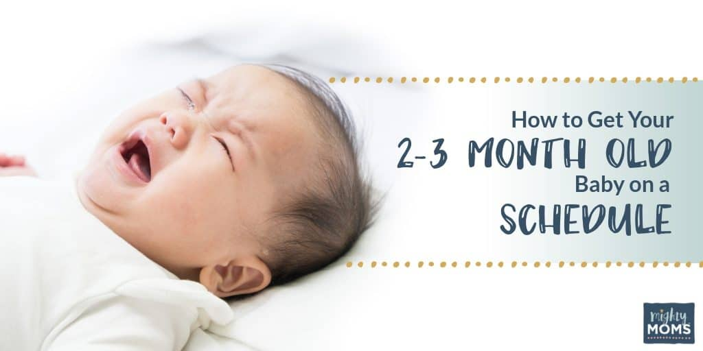 Getting your baby on a schedule is a huge help in finding a better sleep rhythm! | MightyMoms.club