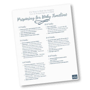 Use this preparing for baby checklist to get ready for the biggest adventure of your life! | MightyMoms.club