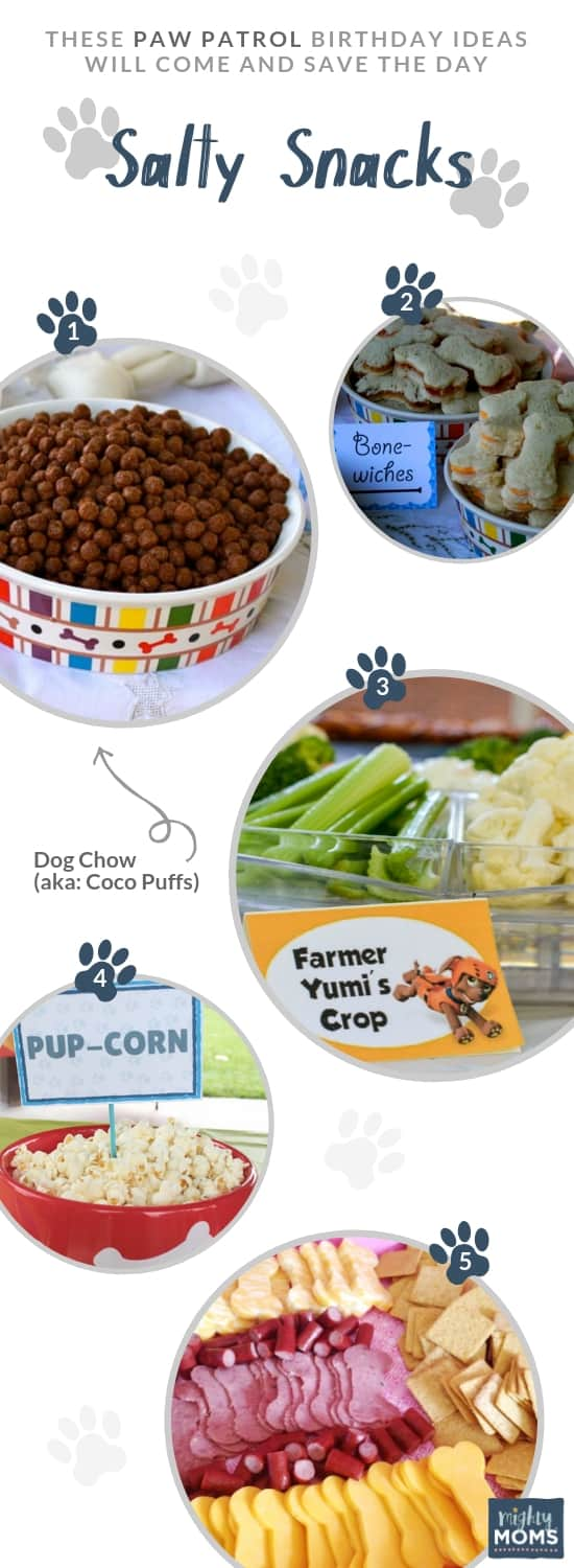 Paw Patrol Party Ideas - Puppy Snacks - MightyMoms.club