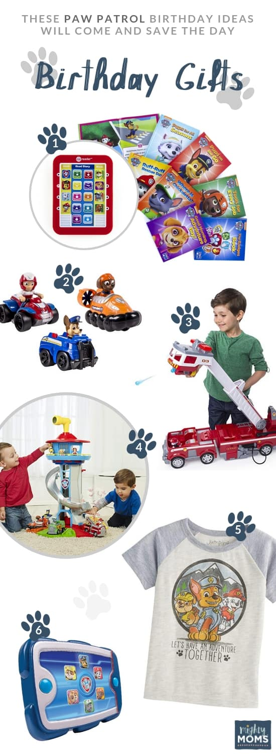 Paw Patrol Gift Ideas - MightyMoms.club