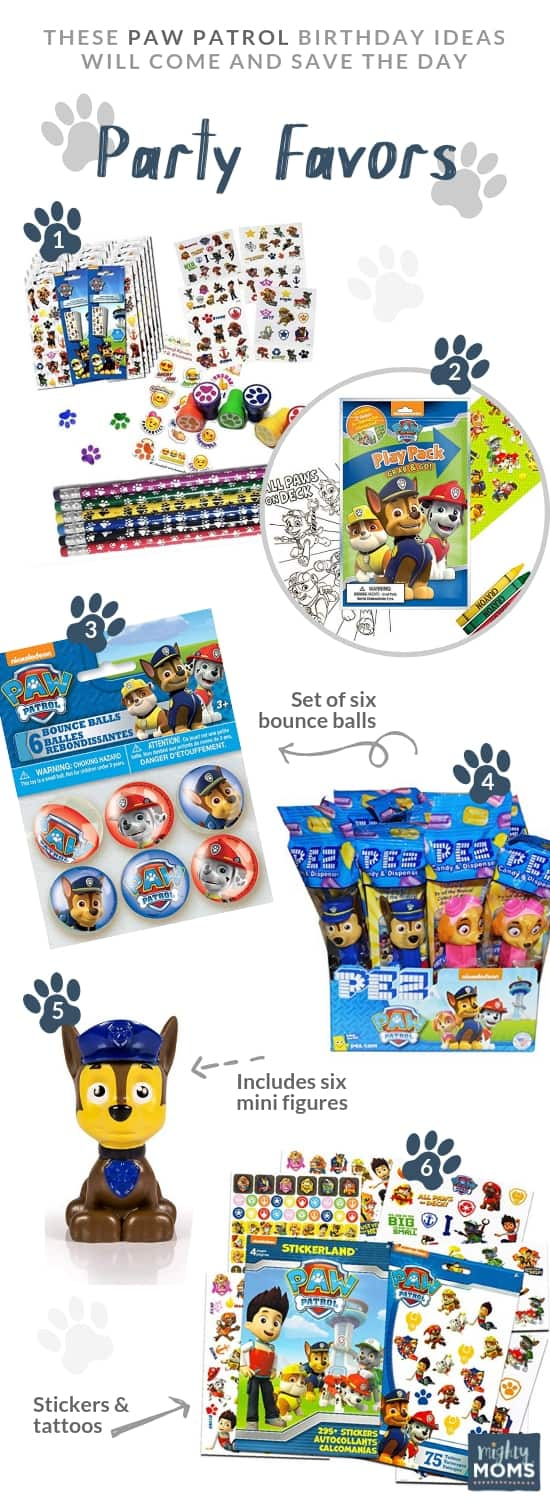 Paw Patrol Party Favor Ideas - MightyMoms.club