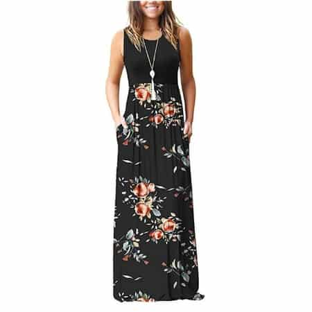 Cute and Comfy Postpartum Fashion: Flowered Dresses -- MightyMoms.club