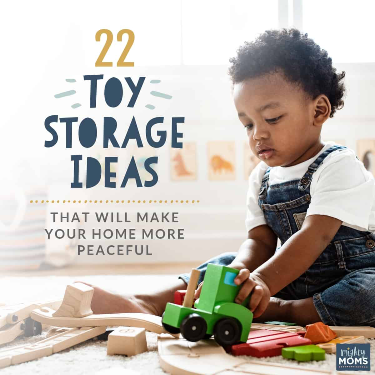 These toy storage ideas will impress you - MightyMoms.club
