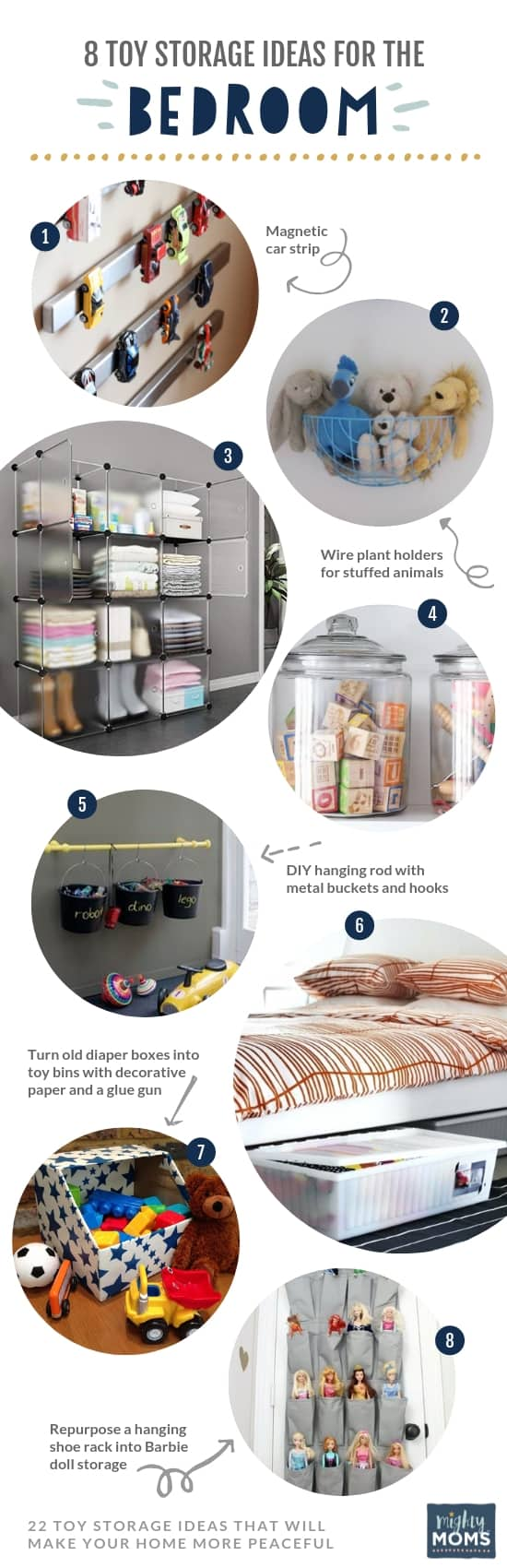 8 Toy Organization Ideas for the Bedroom - MightyMoms.club