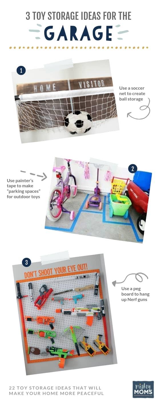 3 Toy Organization Ideas for the Garage - MightyMoms.club
