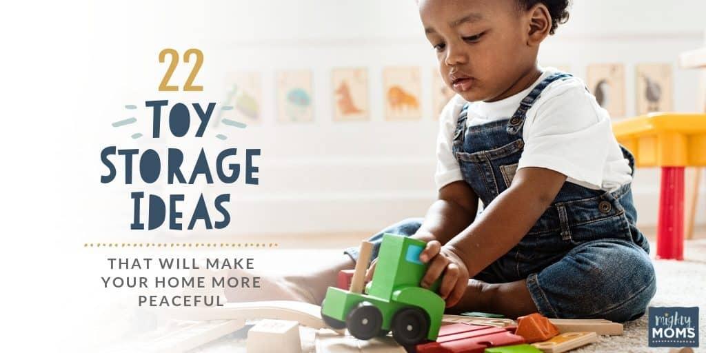 These toy storage ideas will impress you - MightyMoms.club