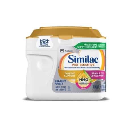 baby formula allergy -- similac sensitive