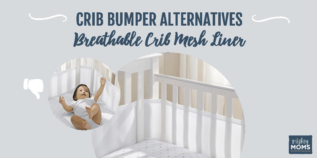 Crib Bumper Alternatives - Mesh Liner