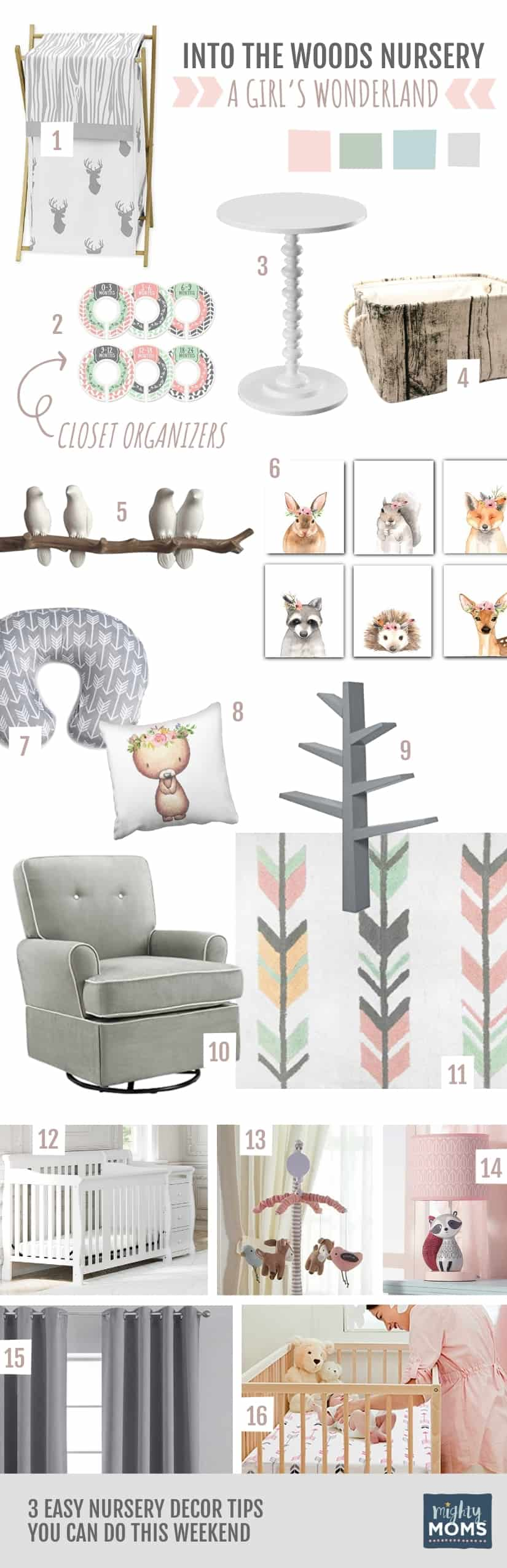 3 Easy Nursery Decor Tips You Can Do This Weekend