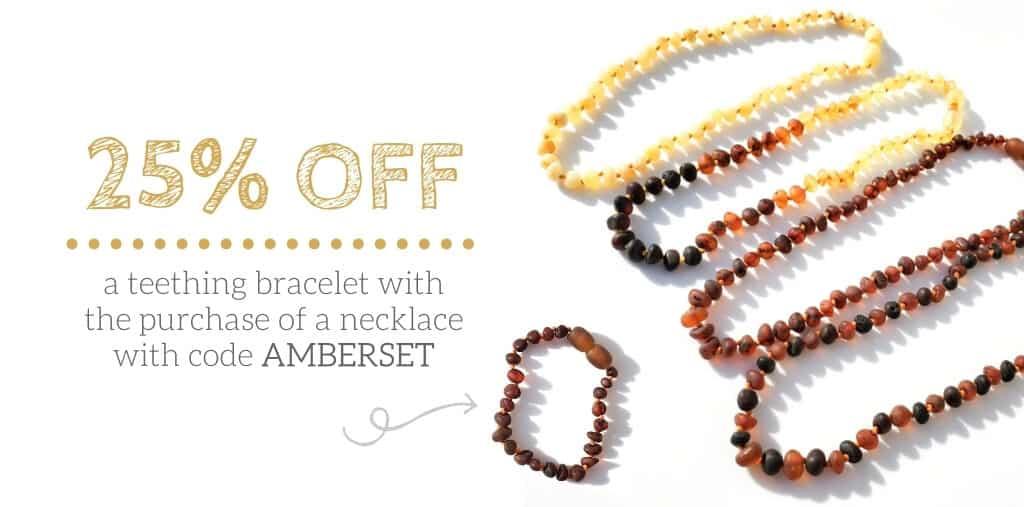 amber teething necklace, amber teething bracelet