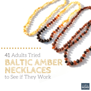 41 Adults Tried Baltic Amber Necklaces to See if They Work
